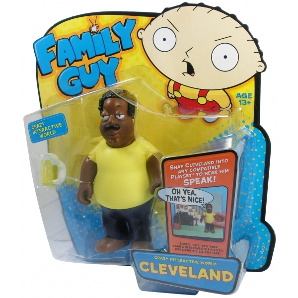 """Family Guy 6"""" Interactive Clevland Figure"""