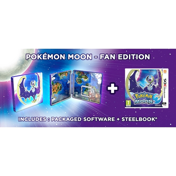 Pokemon Moon Fan Edition 3DS Game - Image 7