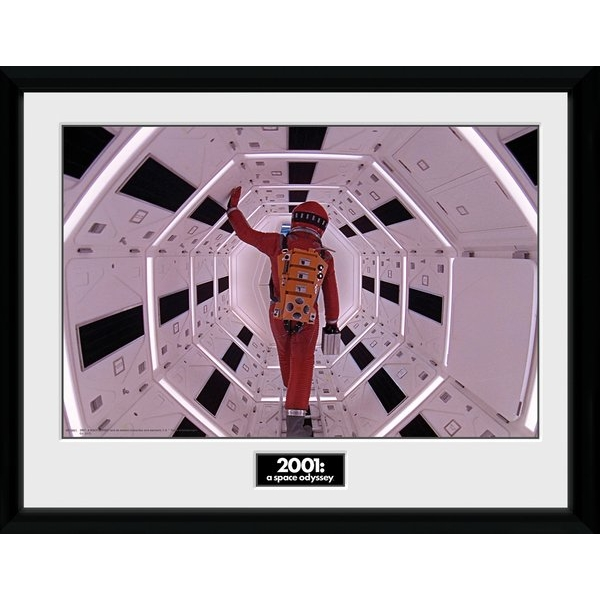 2001 A Space Odyssey Astronaut Framed Collector Print