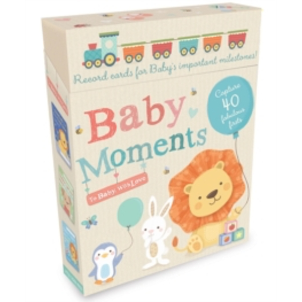 Baby Moments : Record Cards for Baby's Important Milestones!