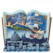 Disney Traditions Off To Neverland Storybook Peter Pan