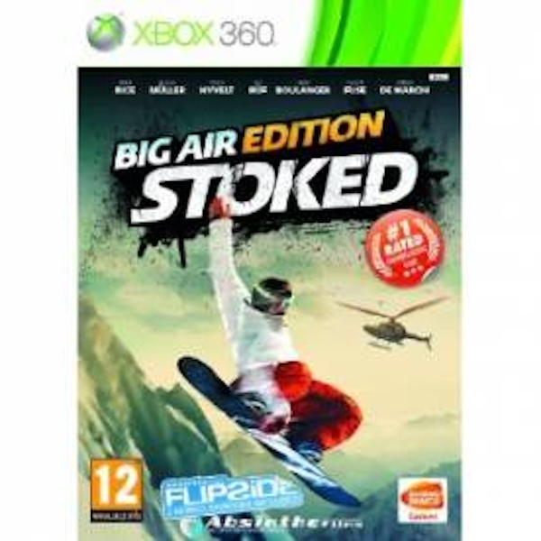 Stoked Big Air Edition Game Xbox 360