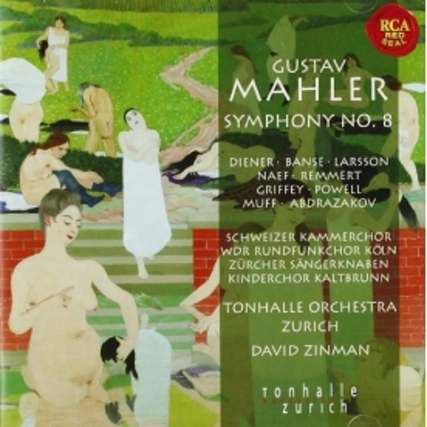 David Zinman - Mahler: Symphony No. 8 CD