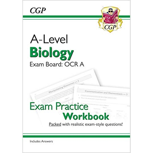 New A-Level Biology: OCR A Year 1 & 2 Exam Practice Workbook - includes Answers  Paperback / softback 2018