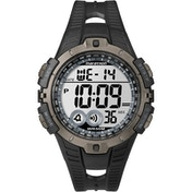 Timex T5K802 Mens Marathon Full-Size Digital Watch Black/Grey