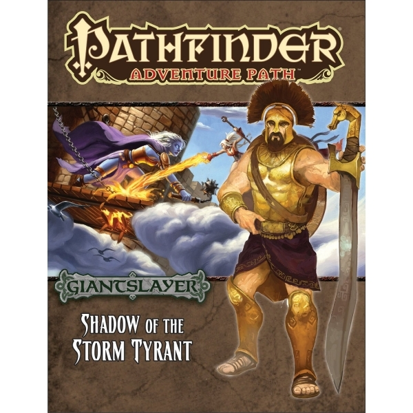 Pathfinder Adventure Path 96 Shadow of the Storm Tyrant (Giantslayer 6 of 6)