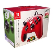 Faceoff Deluxe Wired Pro Controller Super Mario Edition for Nintendo Switch
