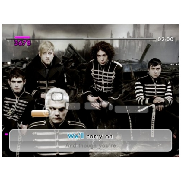We Sing Rock Game Includes Twin Mic Bundle Wii - Image 3