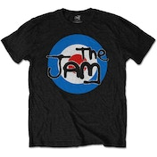 The Jam - Spray Target Logo Men's Small T-Shirt - Black