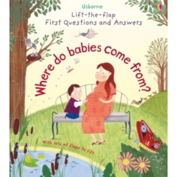 Lift-The-Flap First Questions & Answers : Where Do Babies Come From?