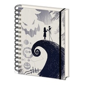 Nightmare Before Christmas - Spiral Hill Notebook