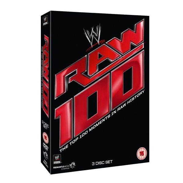 Top 100 Raw Moments DVD
