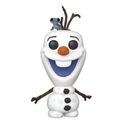 Olaf with Fire Salamander (Frozen 2) Funko Pop! Vinyl Figure