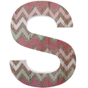 Letter S Wall Plaque