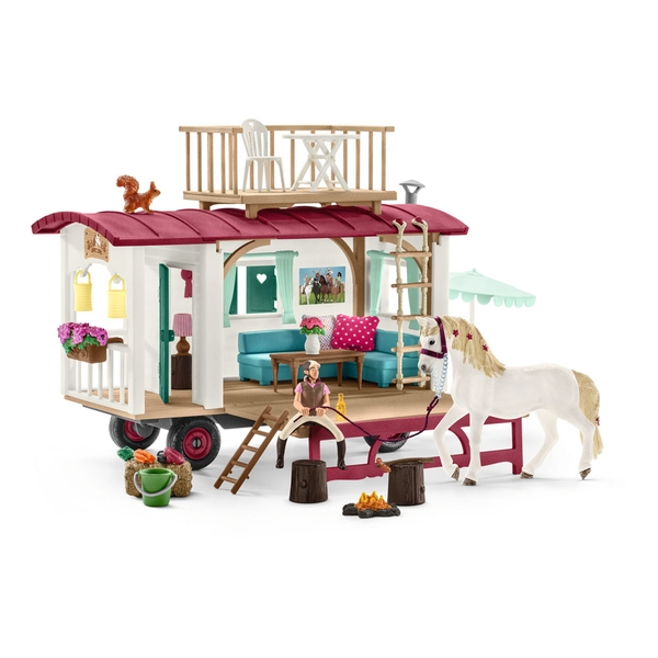 Schleich Horse Club - Caravan For Secret Club Meetings