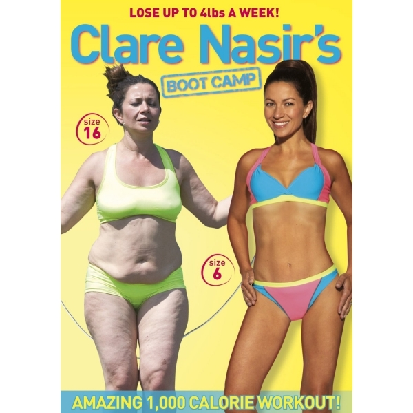 Claire Nasir's Boot Camp DVD