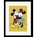 Mickey & Minnie Mouse - True Love Mounted & Framed 30 x 40cm Print - Image 2
