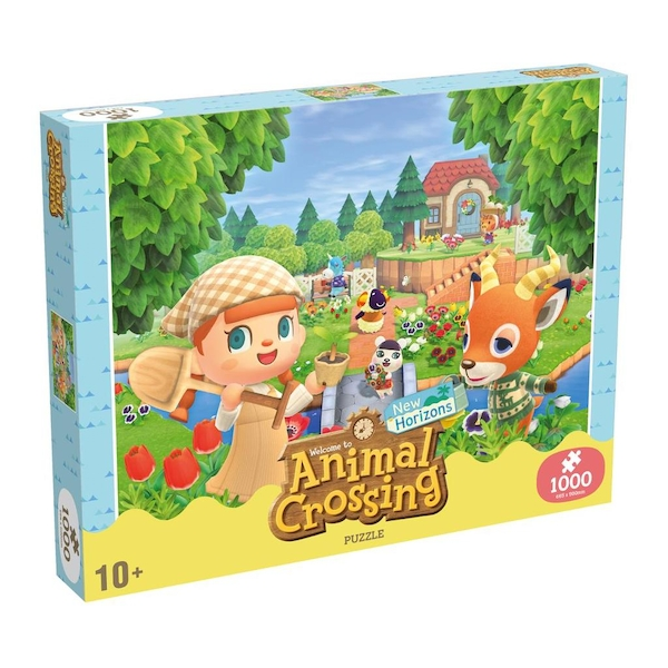 Animal Crossing 1000 Piece Jigsaw Puzzle Game