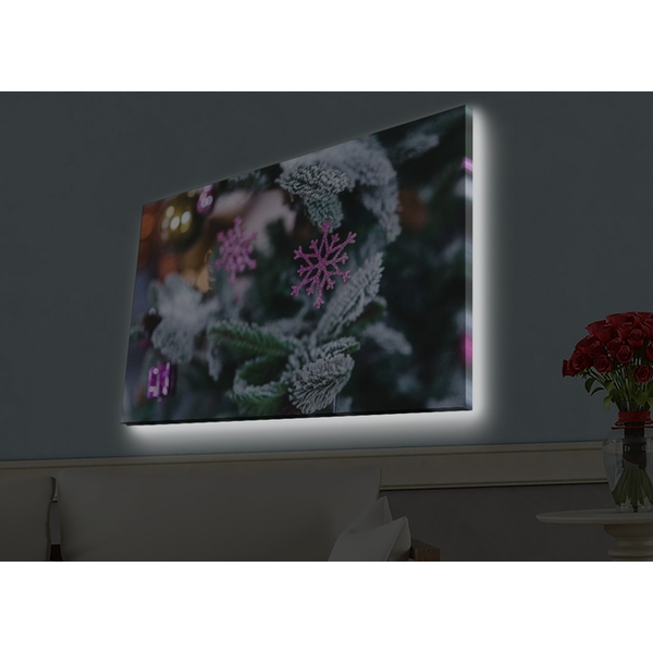 4570HDACT-006 Multicolor Decorative Led Lighted Canvas Painting