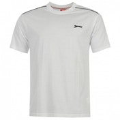 Slazenger Plain T-Shirt Medium White