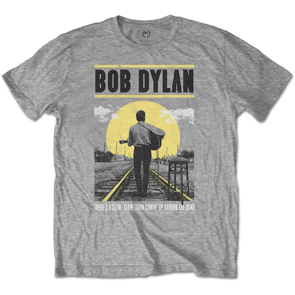 Bob Dylan - Slow Train Men's X-Large T-Shirt - Grey