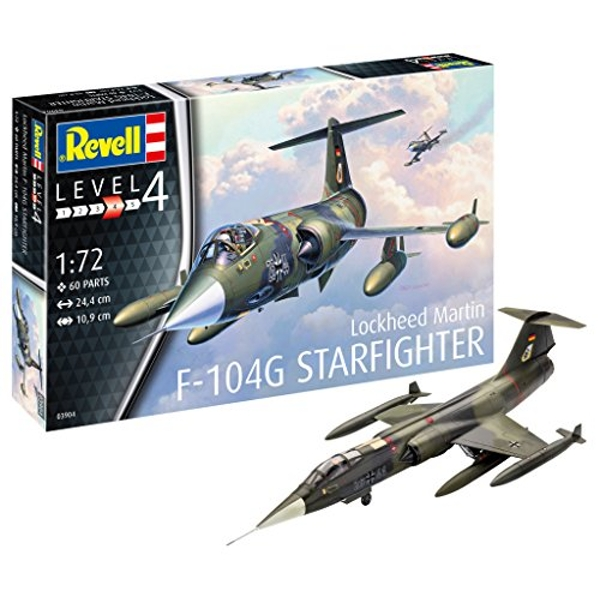 Lockheed Martin F-104G Starfighter Revell Model Kit