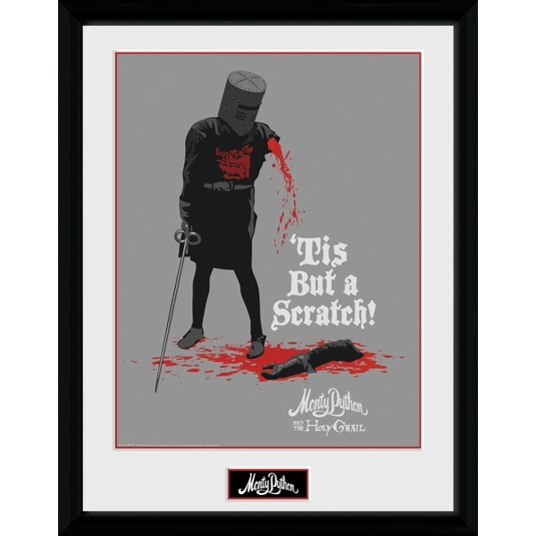 Monty Python Black Knight Collector Print - Image 1