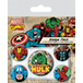 Marvel Retro - Hulk Badge Pack - Image 2