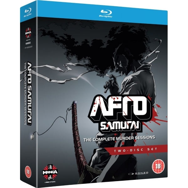 Afro Samurai Complete Murder Sessions Blu-ray