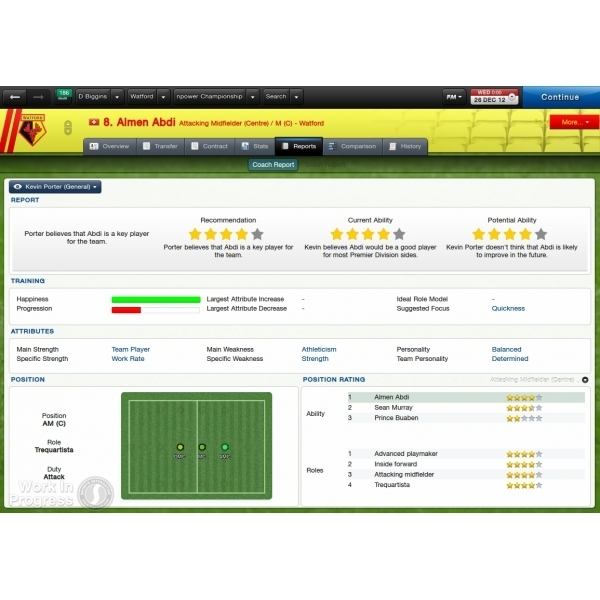 Football Manager 2013 PC &  Mac Game (Boxed and Digital Code) - Image 2