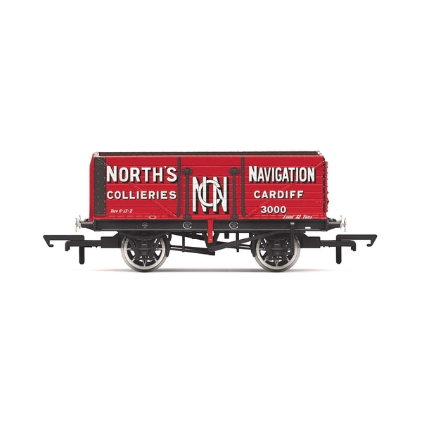 Hornby 7 Plank Wagon 'North's Navigation' No. 3000 Era 2 Model Train