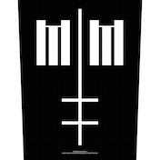 Marilyn Manson - Cross Logo Back Patch