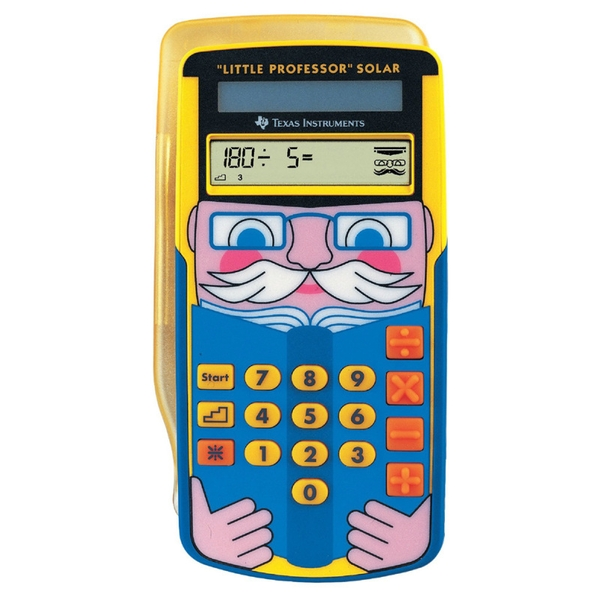 Texas Instruments LPROFPWB11E1 Little Professor Solar Education Calculator