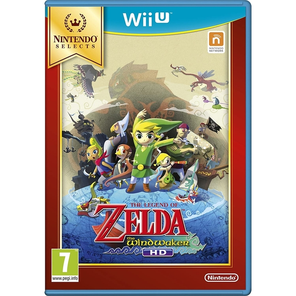 The Legend of Zelda The Wind Waker HD Game Wii U (Selects) - Image 1