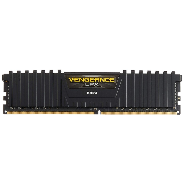 Corsair Vengeance LPX 16GB Kit (2 x 8GB), DDR4, 2400MHz (PC4-19200), CL14, XMP 2.0, DIMM Memory