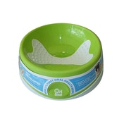 Innovative Pet Products Oral Health Small Dog Bowl GREEN
