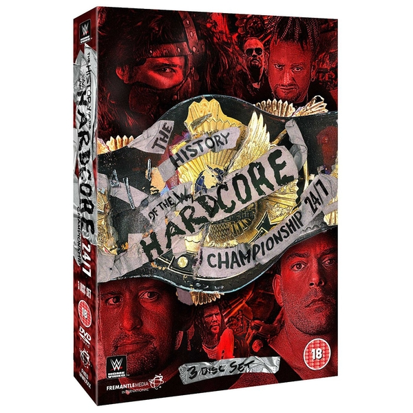 WWE - The History Of The Hardcore Championship 24/7 DVD