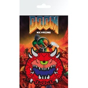 Doom Cacodemon Key Ring