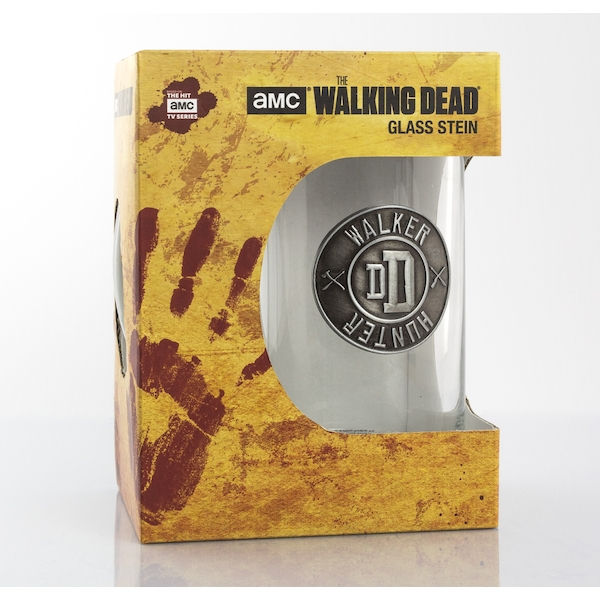 The Walking Dead Walker Hunter Glass Stein