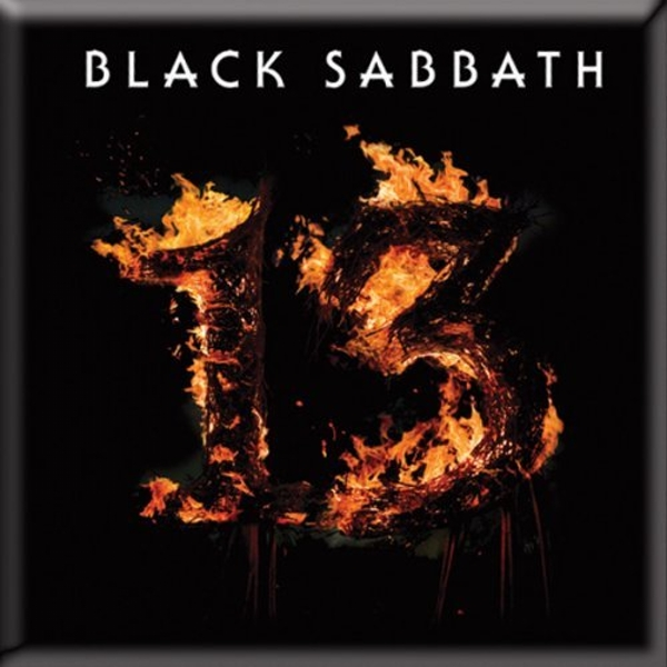 Black Sabbath - 13 Fridge Magnet