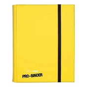 Ultra Pro Binder Yellow