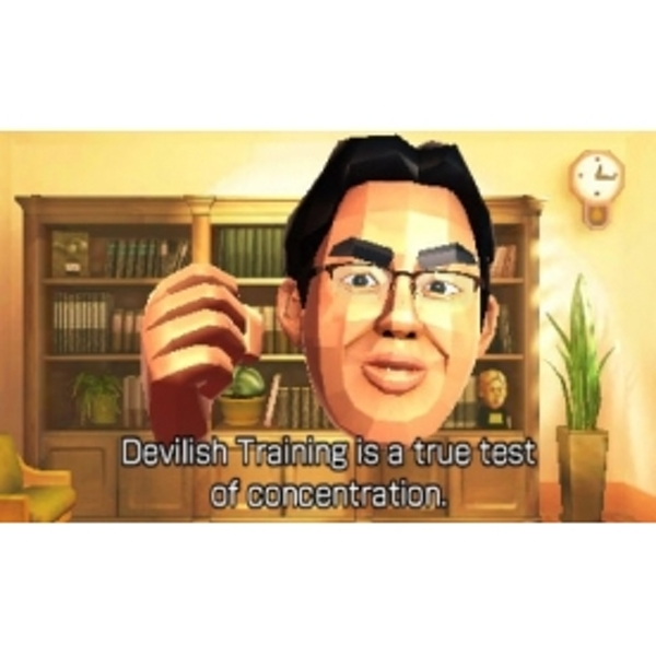 Dr Kawashima's Devilish Brain Training Can You Stay Focused? 3DS Game - Image 2