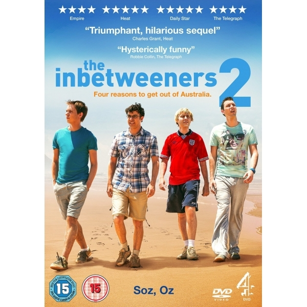 The Inbetweeners 2 DVD