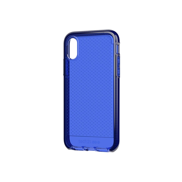 info for 66486 6407b Tech 21 Evo Check Phone Case for iPhone X - Midnight Blue