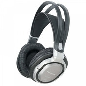 Panasonic Cordless Headphones with Surround Sound Silver UK Plug