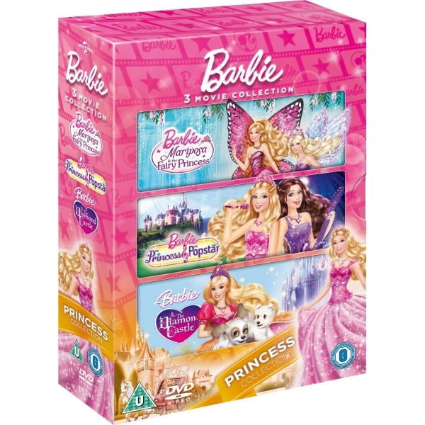 Barbie: The Princess Collection DVD