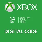 Xbox Live Gold Trial 14 Day Membership Card Xbox 360 and Xbox One