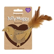 Rosewood Jolly Moggy Natural Bird Cat Toy