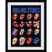 The Rolling Stones Tongues Framed Collector Print - Image 2