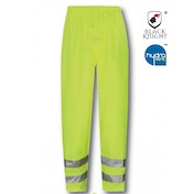 Black Knight Medium Viking High Visibility Breathable Over Trousers - Yellow